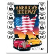 La route de l'Amérique