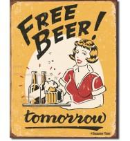 Bière Gratuite - Demain !